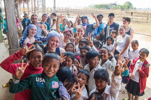 Cambodia Project 2016 - Helping to Build a School