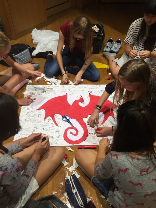Dragon Days Ignite a Spark in Middle School