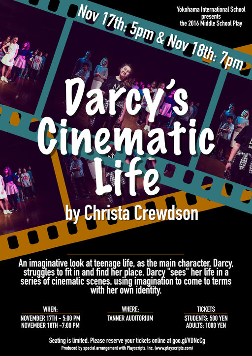 2016 Middle School Play: Darcy's Cinematic Life