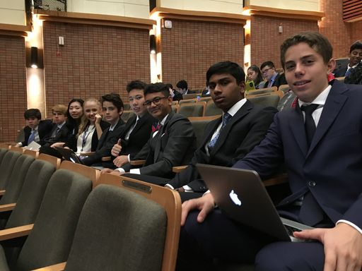 Student Voices from Model United Nations