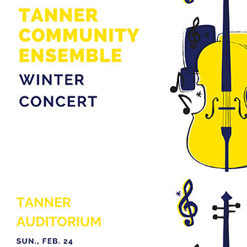 Tanner Community Ensemble Winter Concert, Sun., Feb. 24