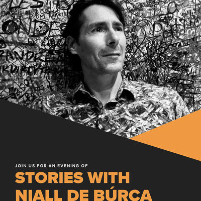 Cancelled: An Evening of Stories with author Niall de Búrca