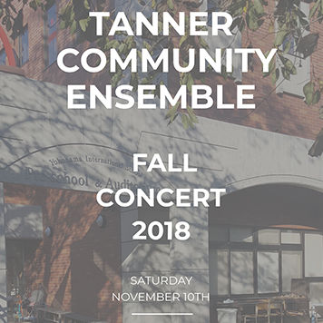 Tanner Community Ensemble Fall Concert