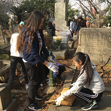 Gr. 5 Service Learning: Preserving Yokohama's History