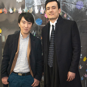 Visiting Alumni: Daniel Buckley and Michi Nakayama